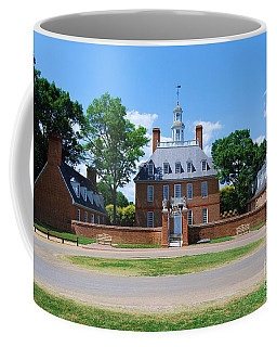 Coffee Mug featuring the photograph Mansion by Eric Liller