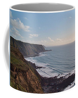 Mansley Cliff And Gull Rock From Longpeak Coffee Mug