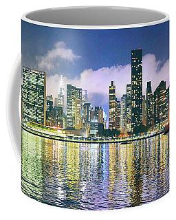 Manthattan Reflection Coffee Mug by Steve Archbold