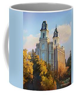 Manti Temple Tall Coffee Mug