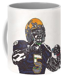 Manti Te'o 1 Coffee Mug by Jeremiah Colley