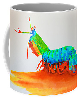 Mantis Shrimp Coffee Mug