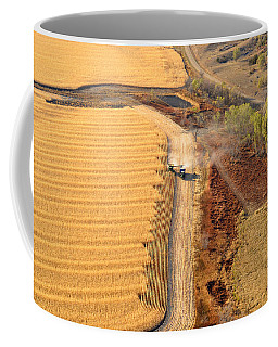 Many Acres To Harvest Coffee Mug