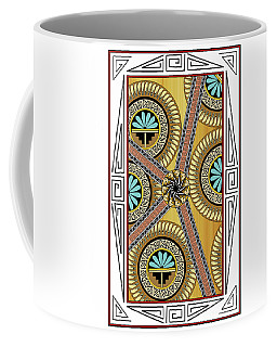Many Circles Coffee Mug