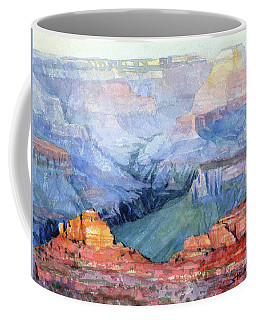Coffee Mug featuring the painting Many Hues by Steve Henderson