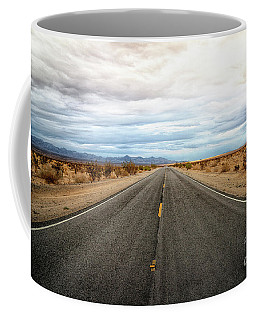 Many Miles Through Mojave Desert Coffee Mug
