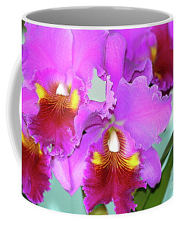 Many Purple Orchids Coffee Mug