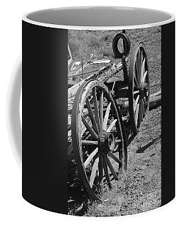 Coffee Mug featuring the photograph Many Years Ago by Debby Pueschel
