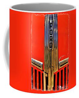 Manzanar Fire Truck Hood And Grill Detail Coffee Mug