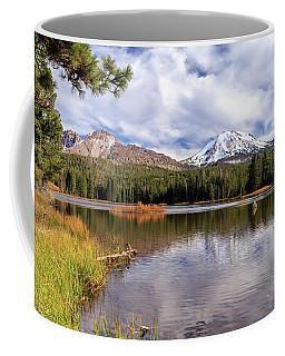 Coffee Mug featuring the photograph Manzanita Lake - Mount Lassen by James Eddy