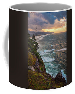 Coffee Mug featuring the photograph Manzanita Sun by Darren White