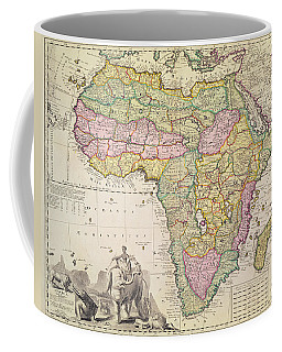 Map Of Africa Coffee Mug