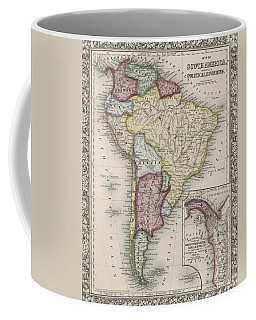 Map Of South America Coffee Mug