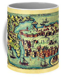 Map Seaport Coffee Mug