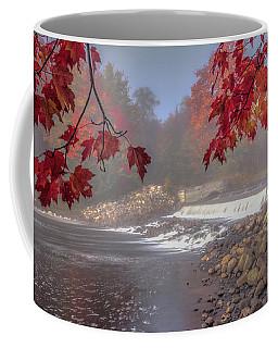 Maple Leaf Frame Ws Coffee Mug