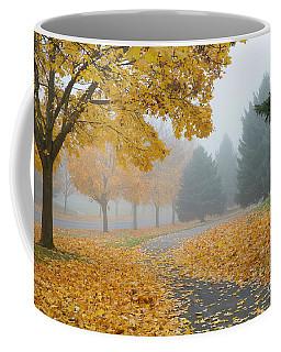 Maple Leaf Path Coffee Mug