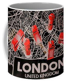 Maps From London Town Coffee Mug