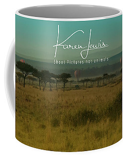 Mara Balloon Rides Coffee Mug by Karen Lewis