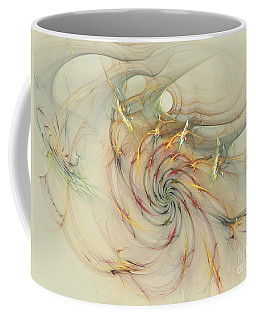 Marble Spiral Colors Coffee Mug