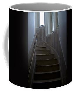 Marble Staircase Winding Past Three Coffee Mug