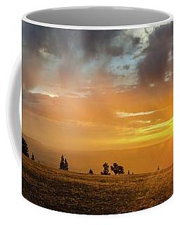 Marble View Sunrays Coffee Mug