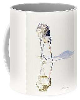 Marbled Godwit Times Three Coffee Mug
