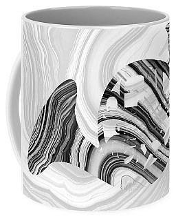 Marbled Music Art - French Horn - Sharon Cummings Coffee Mug