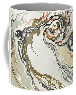 Marbled Pattern Coffee Mug
