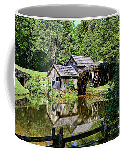 Coffee Mug featuring the photograph Marby Mill 2 by Paul Ward