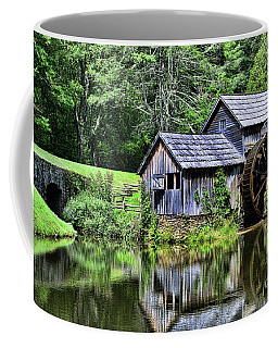 Coffee Mug featuring the photograph Marby Mill 3 by Paul Ward