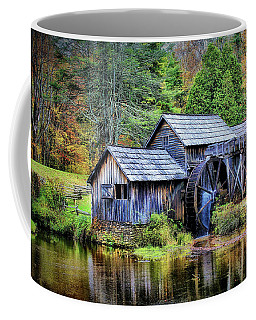 Coffee Mug featuring the photograph Mabry Mill A Blue Ridge Parkway Favorite by Ola Allen