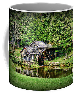 Marby Mill Landscape Coffee Mug by Paul Ward