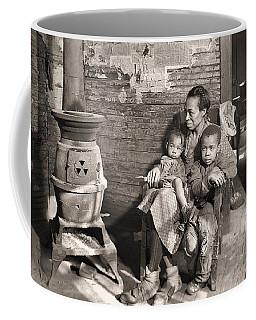 March 1937 Scott's Run, West Virginia Johnson Family. Coffee Mug