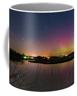 March 6 Aurora Over Scarborough Marsh  Coffee Mug
