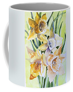 March Of Daffodils Coffee Mug