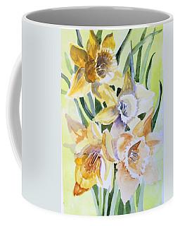 March Of Daffodils Coffee Mug