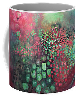 March Of The Flamingos Stairway To Heaven Coffee Mug