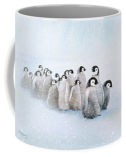 March Of The Penguins Coffee Mug by Thanh Thuy Nguyen