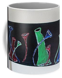 March Of The Wine Brigade Coffee Mug by Sharyn Winters