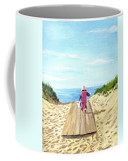 March To The Beach Coffee Mug