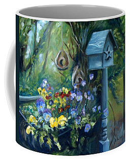 Marcia's Garden Coffee Mug by Donna Tuten