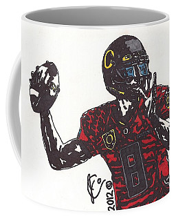 Marcus Mariota 1 Coffee Mug by Jeremiah Colley