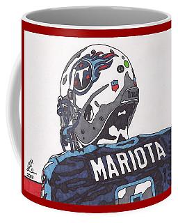 Marcus Mariota Titans 2 Coffee Mug by Jeremiah Colley