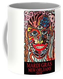 Mardi Gras 2018 Coffee Mug