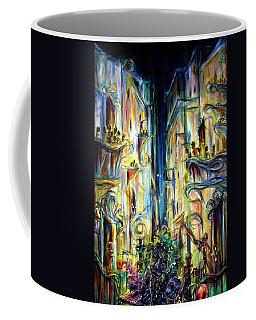 Mardi Gras Coffee Mug by Heather Calderon