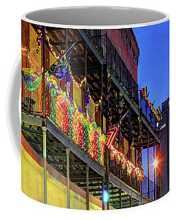 Mardi Gras Mattress Factory And Rsa Coffee Mug