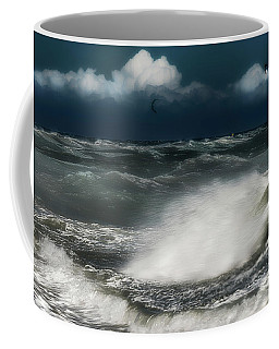 Coffee Mug featuring the photograph Mareggiata A Ponente - Eastern Seastorm by Enrico Pelos