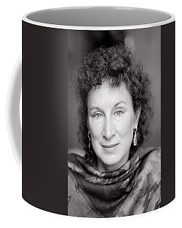 Margaret Atwood Coffee Mug by Shaun Higson