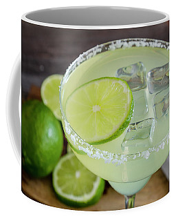 Margarita Close Up Coffee Mug by Teri Virbickis