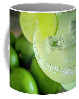 Margaritas Anyone Coffee Mug by Teri Virbickis